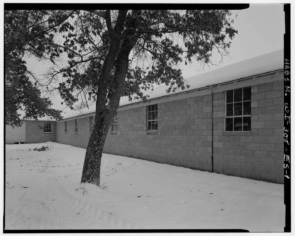 Fort McCoy, Building No. T-10601, Along Three Main North/South Corridor, Block 10, Sparta, Monroe County, WI