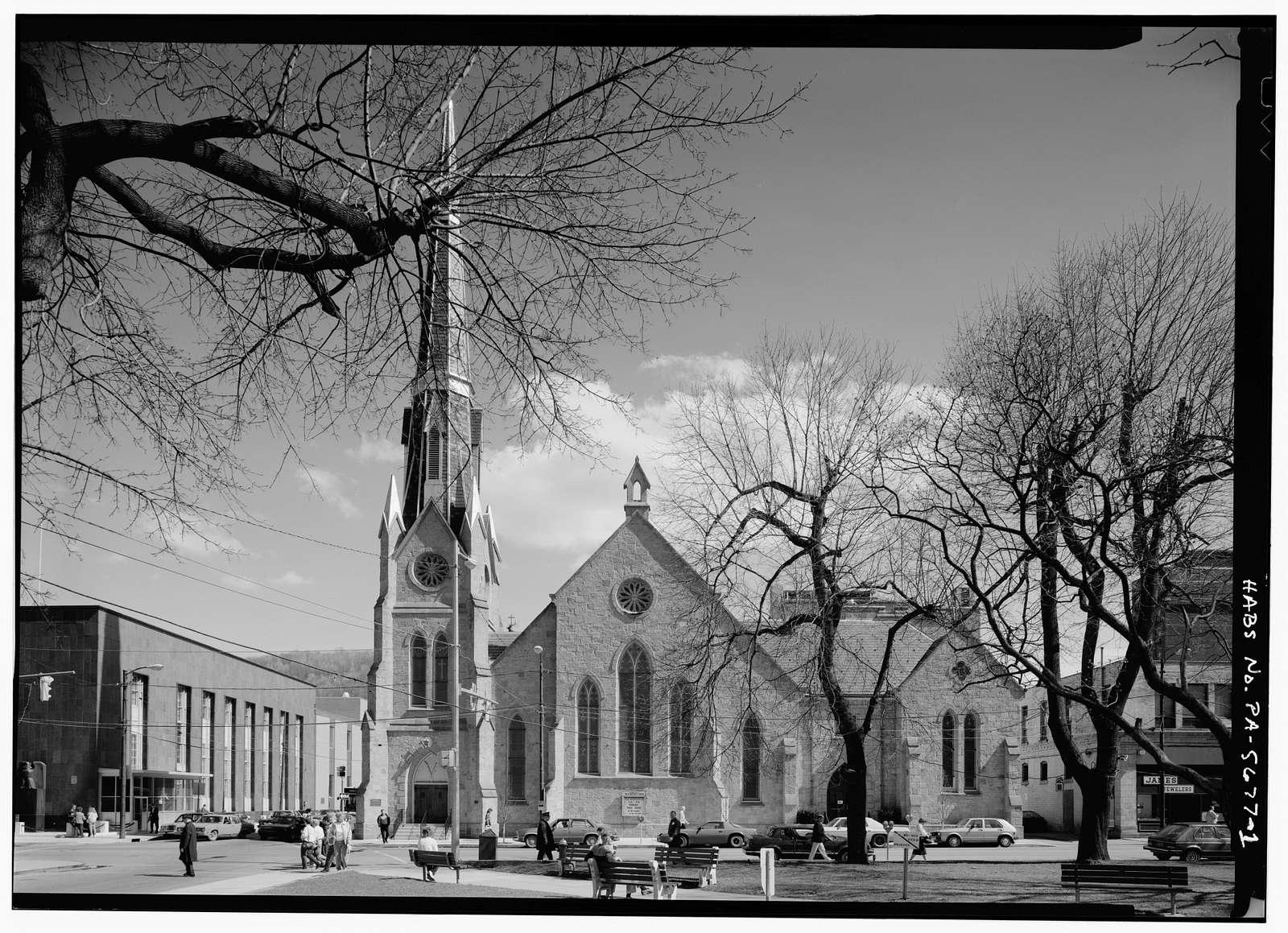 Franklin Street Methodist Church, 131 Franklin Street, Johnstown, Cambria County, PA
