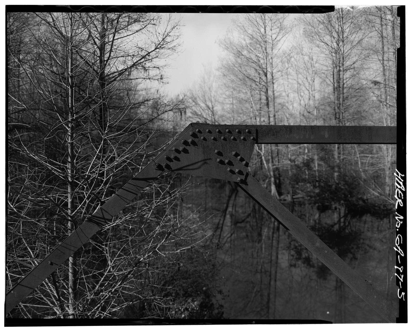 Georgia DOT Bridge No. 321-00297X-00255N, County Road 297 spanning Swift Creek, Warwick, Worth County, GA
