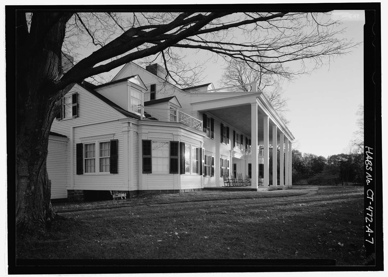 Hill-Stead, Pope-Riddle House Complex, 35 Mountain Road, Farmington, Hartford County, CT