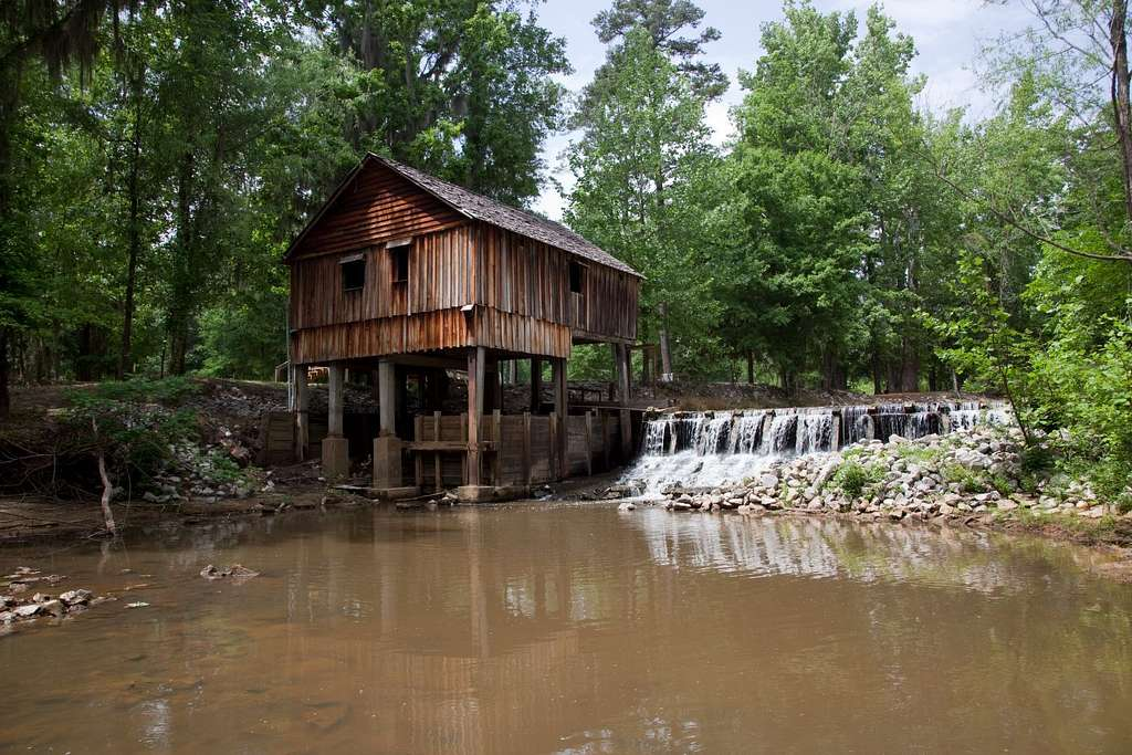 Historic Rikard's Mill is a truly historic site near Beatrice, Alabama
