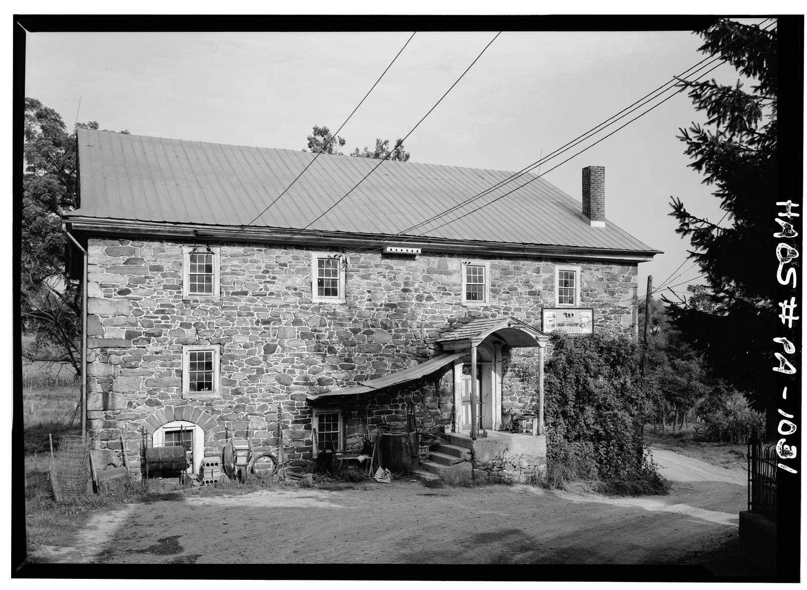 Knabb-Bieber Mill, Monocacy Creek (Oley Township), Oley, Berks County, PA