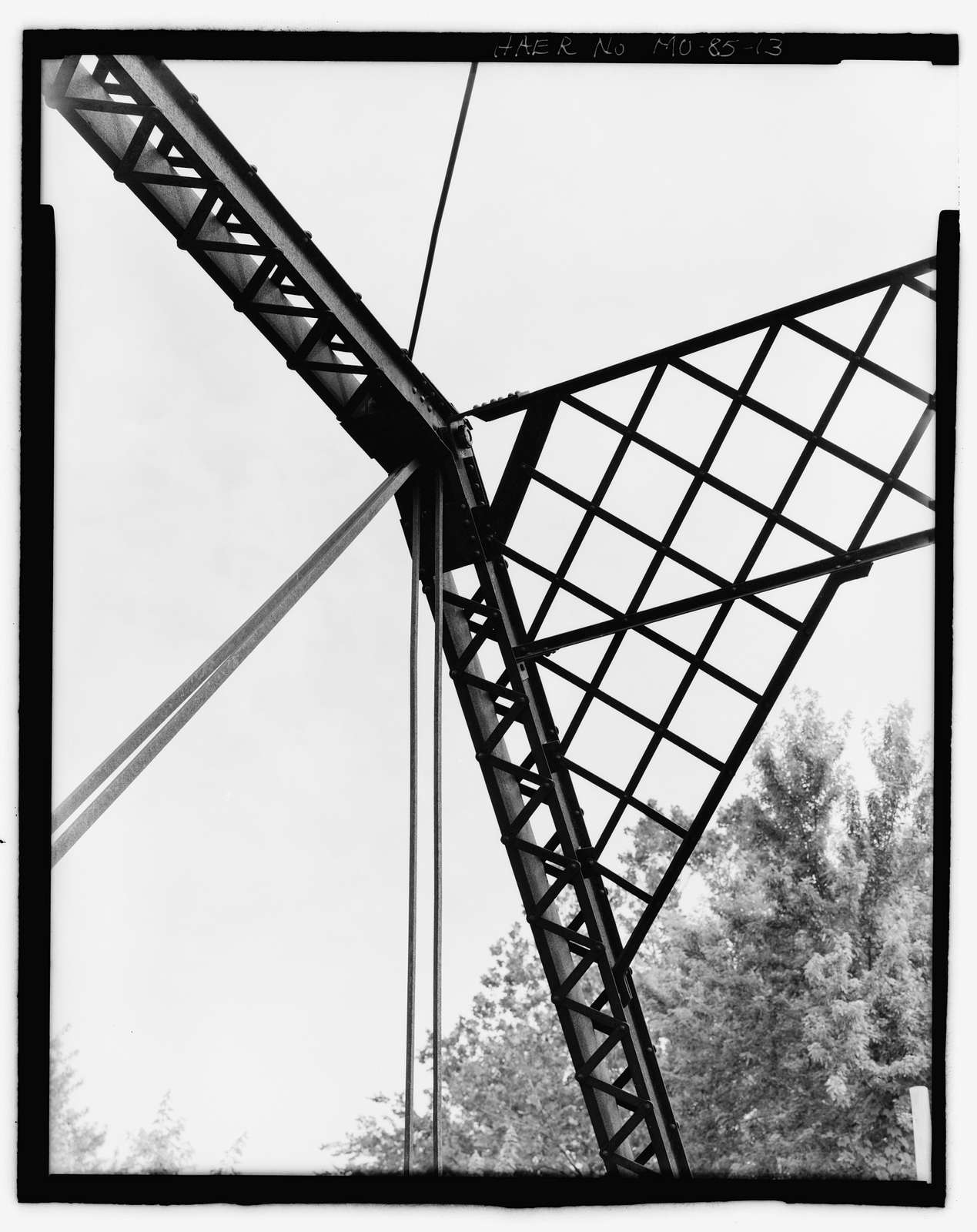 Lupus Bridge, Spanning Splice Creek at Moniteau County Road 4, Lupus, Moniteau County, MO