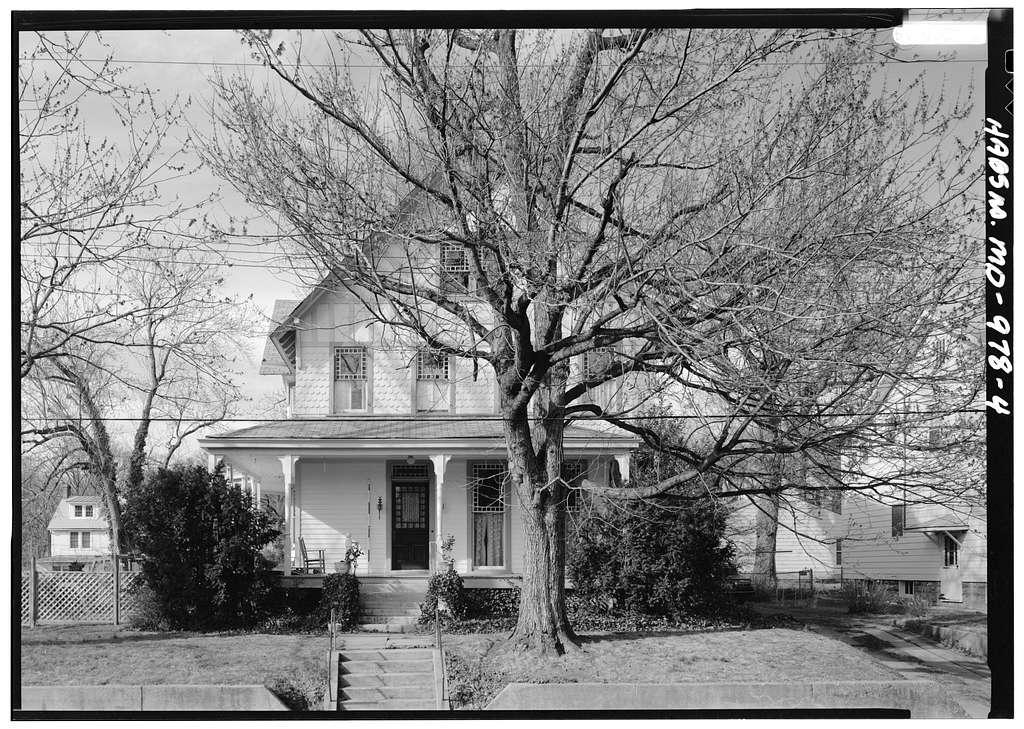 McEwen House, 4106 Gallatin Street, Hyattsville, Prince George's County, MD