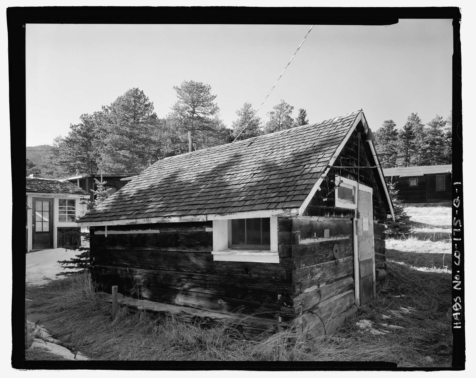 McGraw Ranch, Ice House-Storage Shed, McGraw Ranch Road, Estes Park, Larimer County, CO