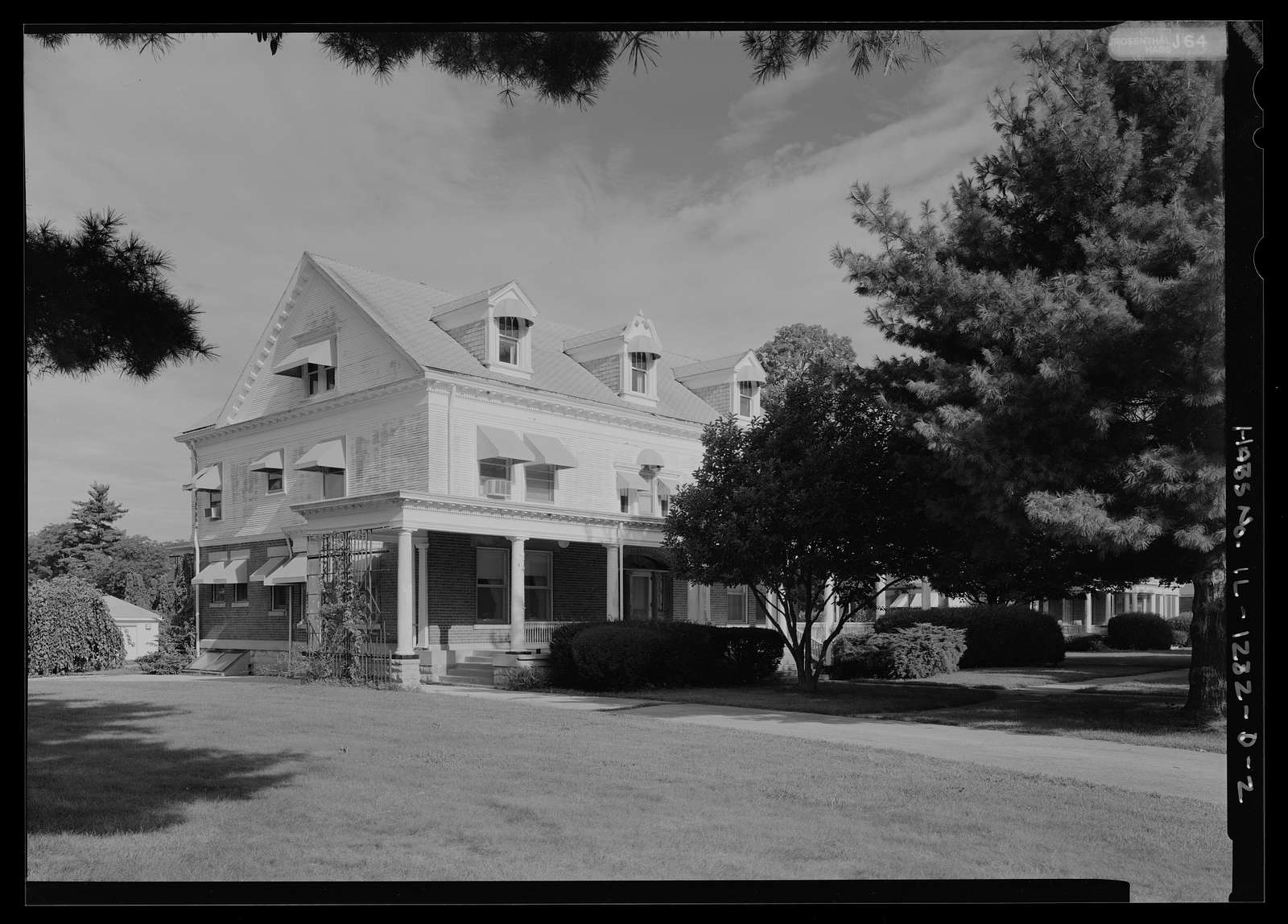National Home for Disabled Volunteer Soldiers, Danville Branch, Directors' House, 1900 and 2000 East Main Street , Danville, Vermilion County, IL