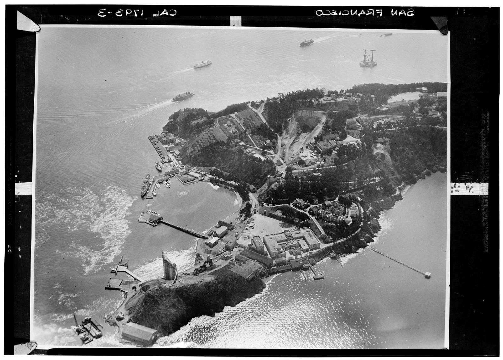 Naval Training Station, Yerba Buena Island, San Francisco, San Francisco County, CA