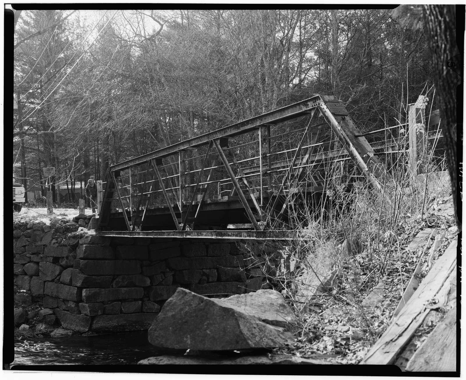 Osgood Bridge, Spanning Beebe River, Perch Pond Road, Campton Station, Grafton County, NH