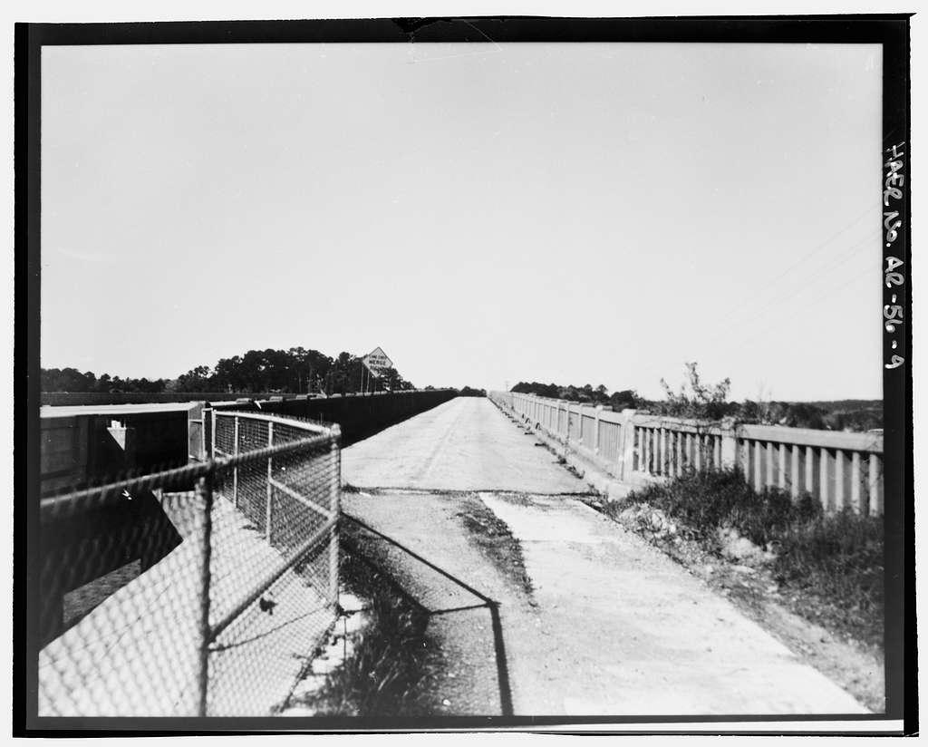Ouachita River Bridge, Spanning Lake Hamilton on U.S. Highway 70, Hot Springs, Garland County, AR