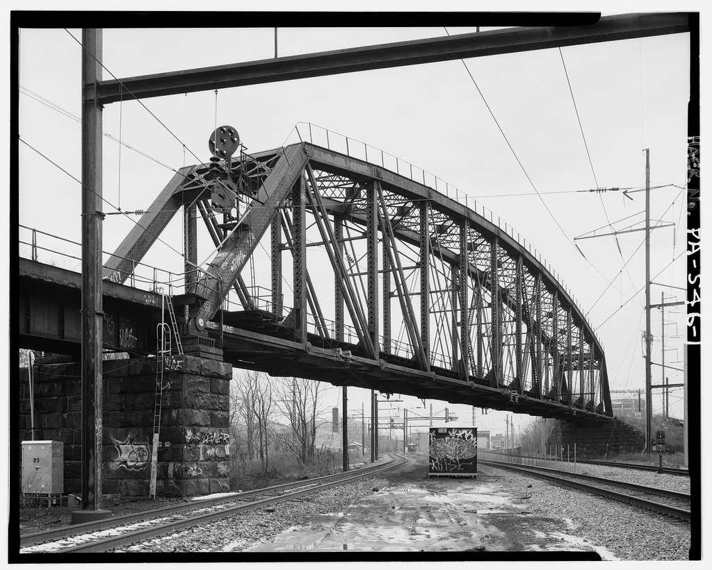 Pennsylvania Railroad, 52nd Street Bridge, North Fifty-second Street at Lancaster Avenue, Philadelphia, Philadelphia County, PA
