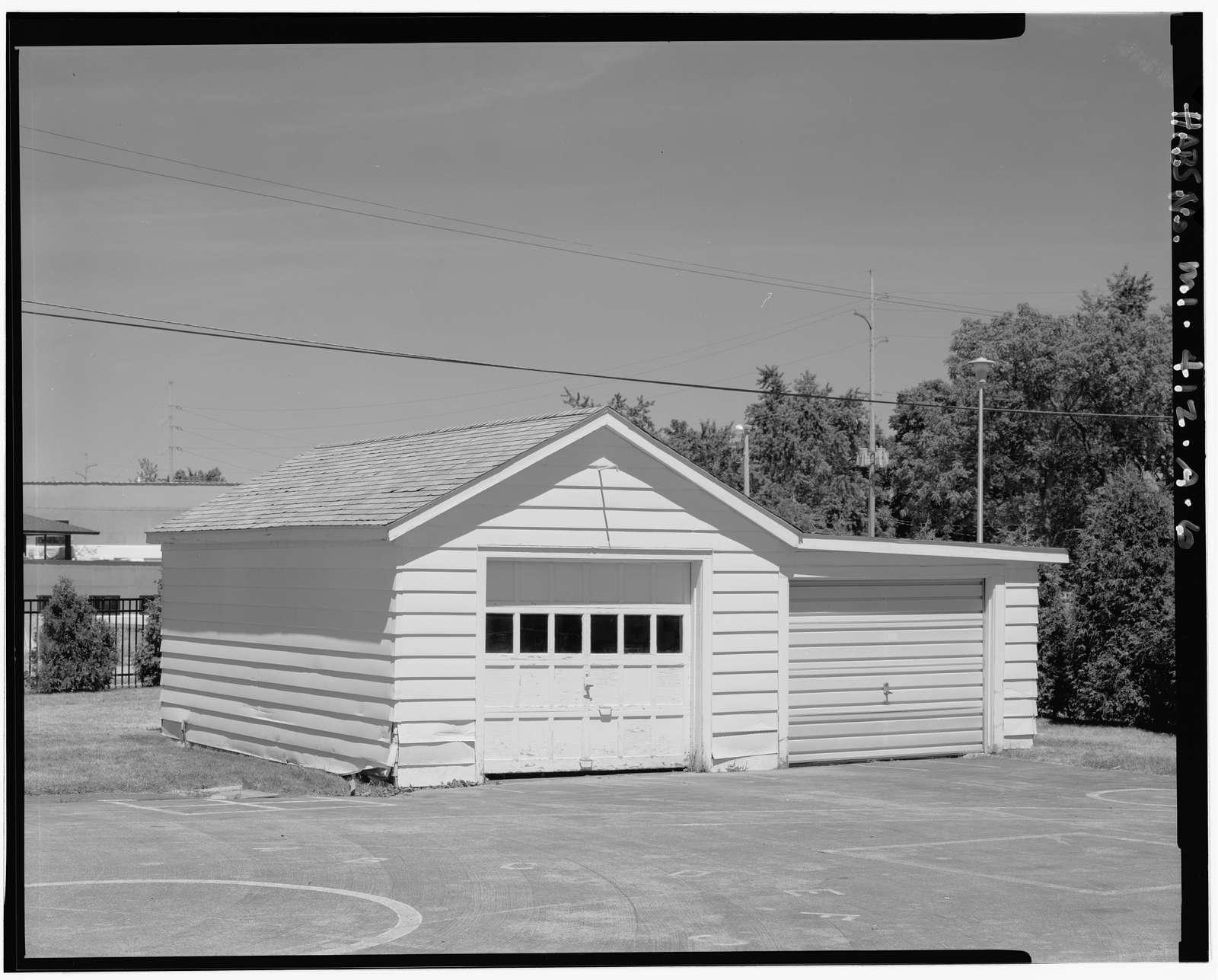 Percy Jones Hospital, Commander's Quarters, 100 West Washington Street, Battle Creek, Calhoun County, MI