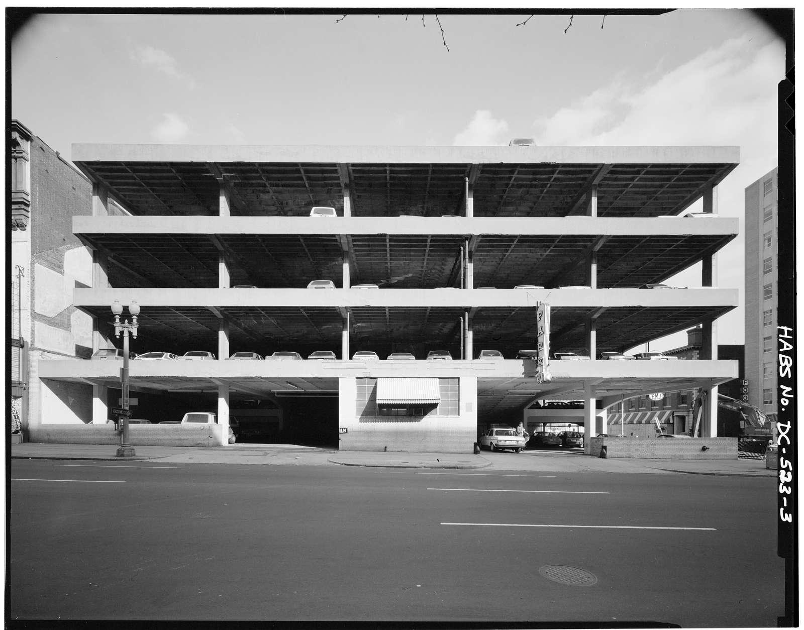 PMI Parking Garage, 403-407 Ninth Street, Northwest, Washington, District of Columbia, DC