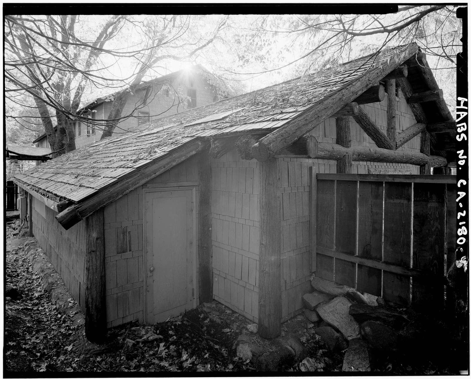 Pohono Indian Studio, Yosemite Village, Mariposa County, CA