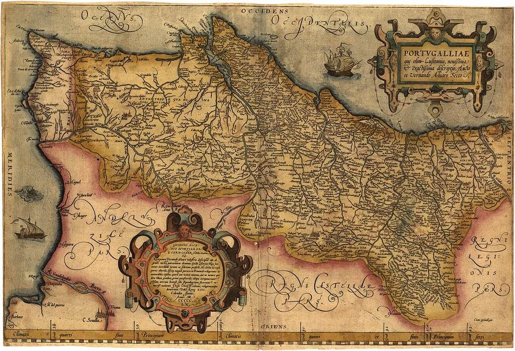 Portugalliae : que olim Lusitania, nouissima & exactissima descriptio /