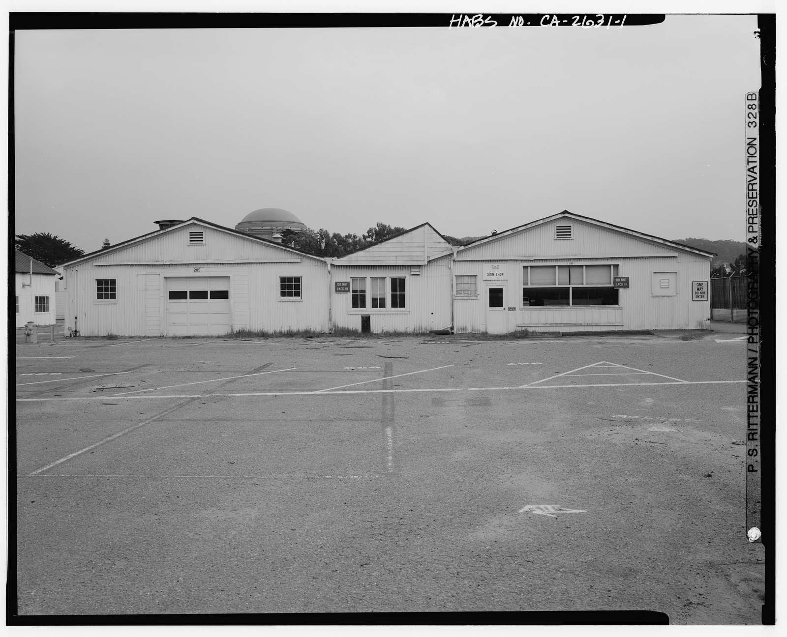 Presidio of San Francisco, Paint Shop, Crissy Field North cantonment, San Francisco, San Francisco County, CA