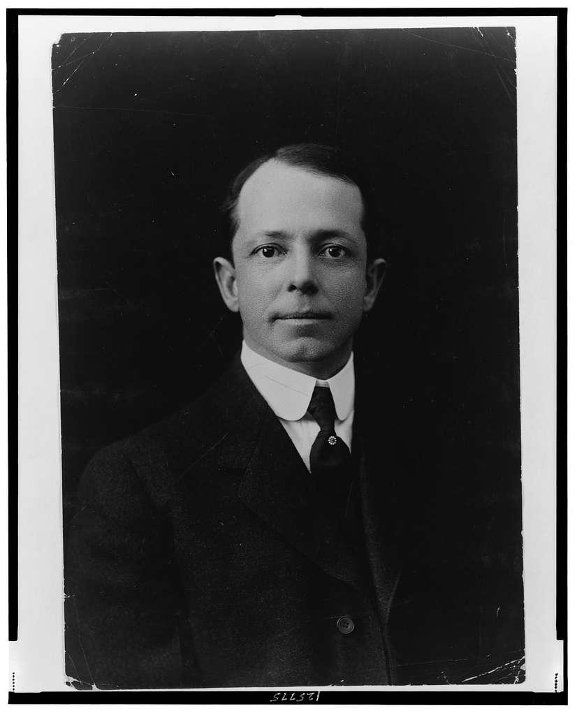 [Prof. Henry Solon Graves, head-and-shoulders portrait, facing front]