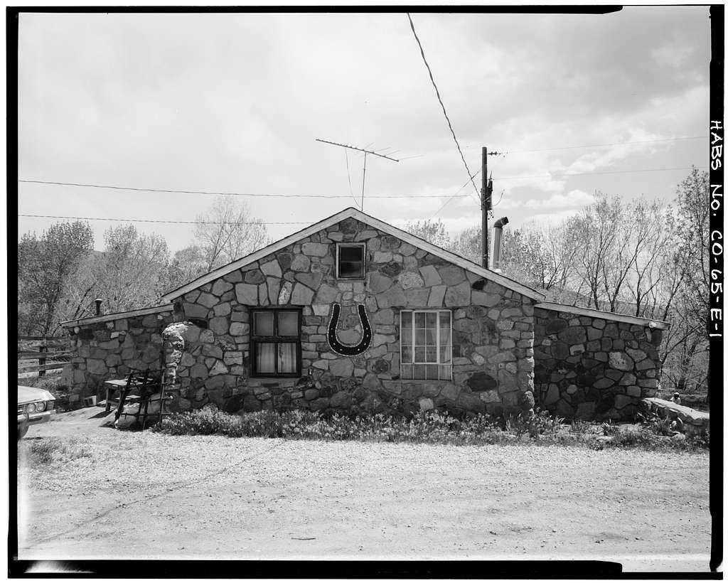 Rooney Ranch, Blacksmith Shop, Rooney Road & West Alamdea Parkway, Morrison, Jefferson County, CO