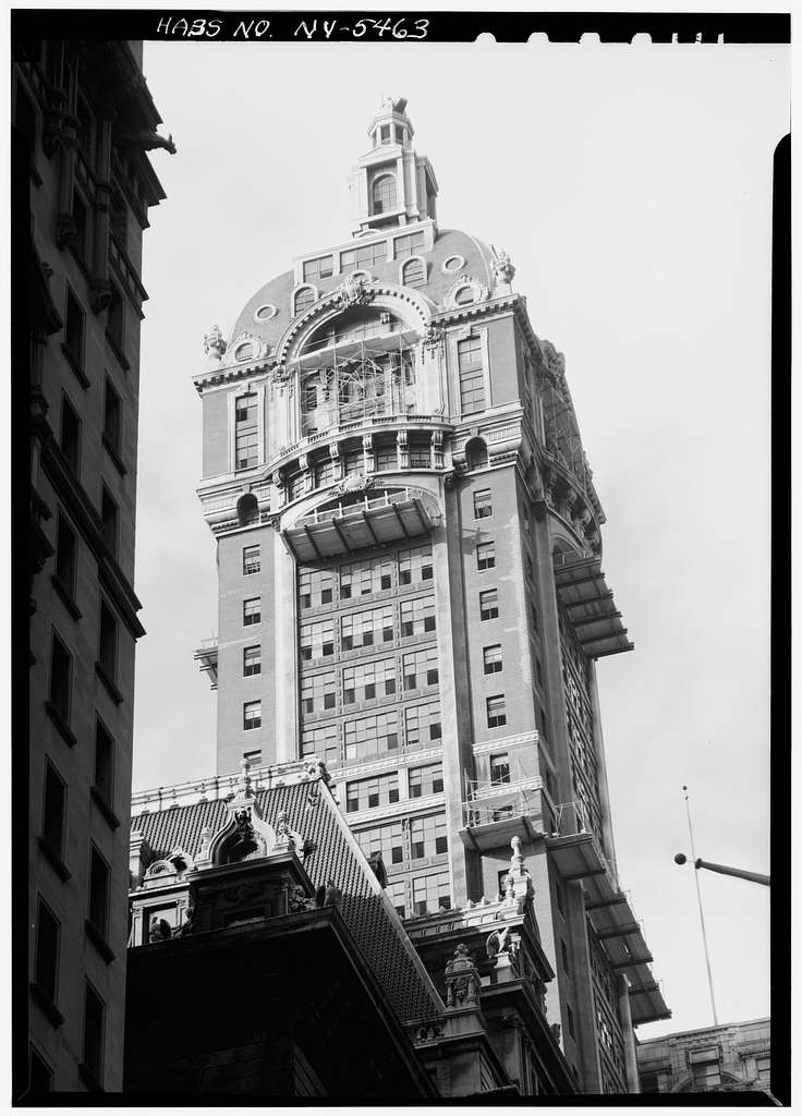 Singer Tower, 149 Broadway, New York, New York County, NY