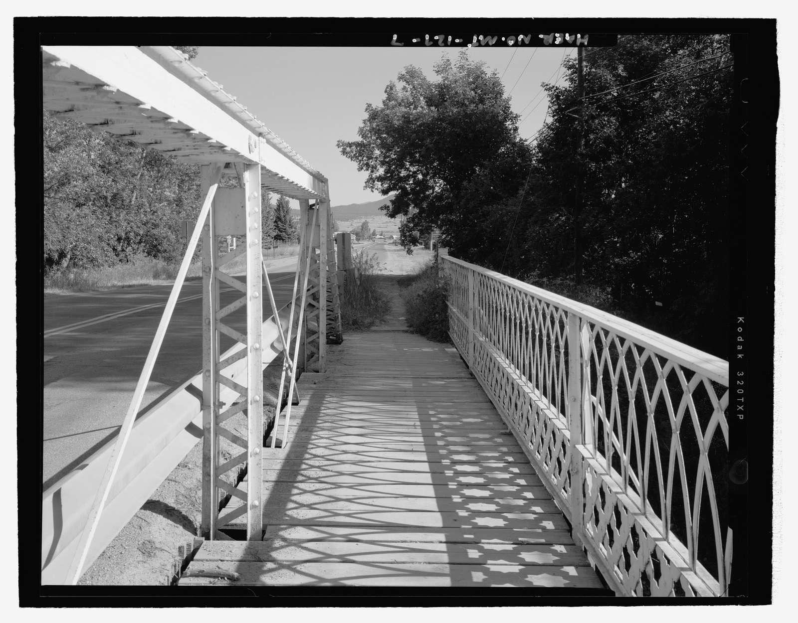 Ten Mile Creek Bridge, Spanning Ten Mile Creek at Williams Street, Helena, Lewis and Clark County, MT