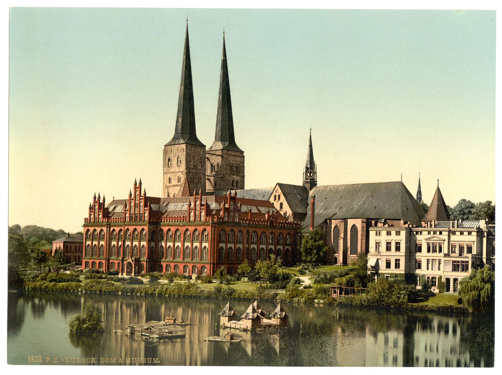 [The cathedral and museum, Lubeck, Germany]