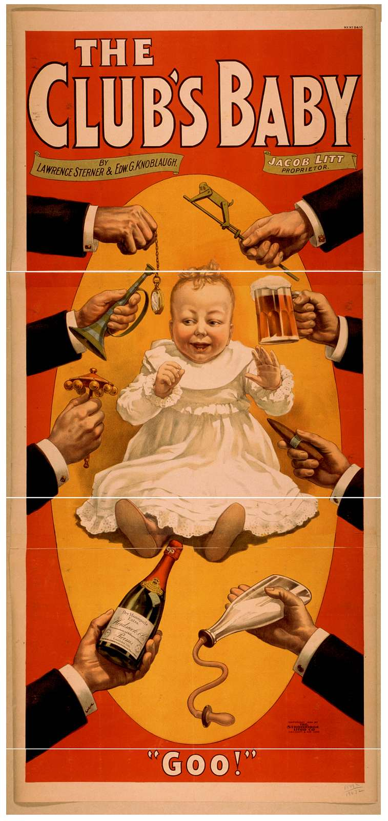The club's baby by Lawrence Sterner & Edw. G. Knoblaugh.