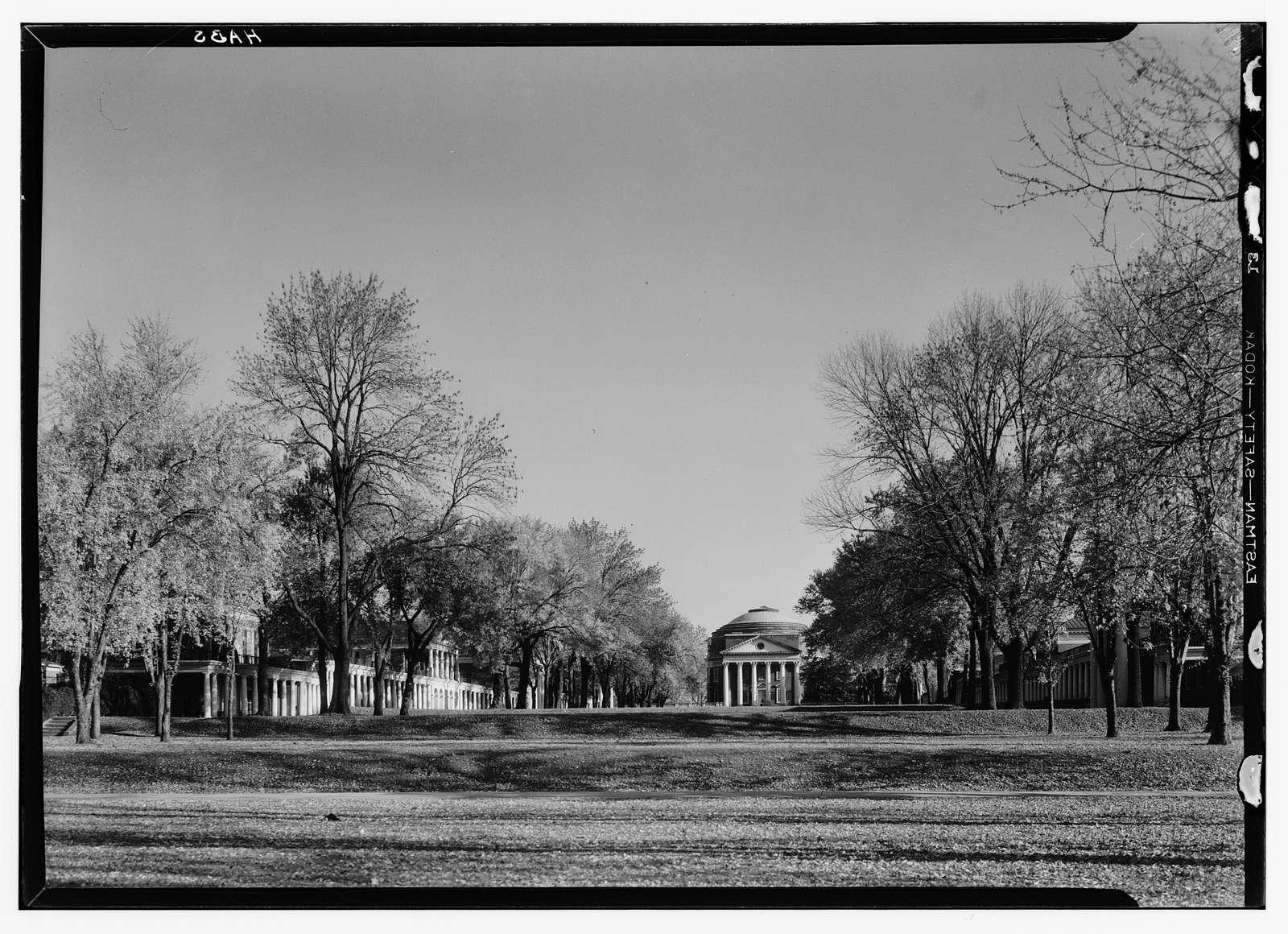 University of Virginia, University Avenue & Rugby Road, Charlottesville, Charlottesville, VA