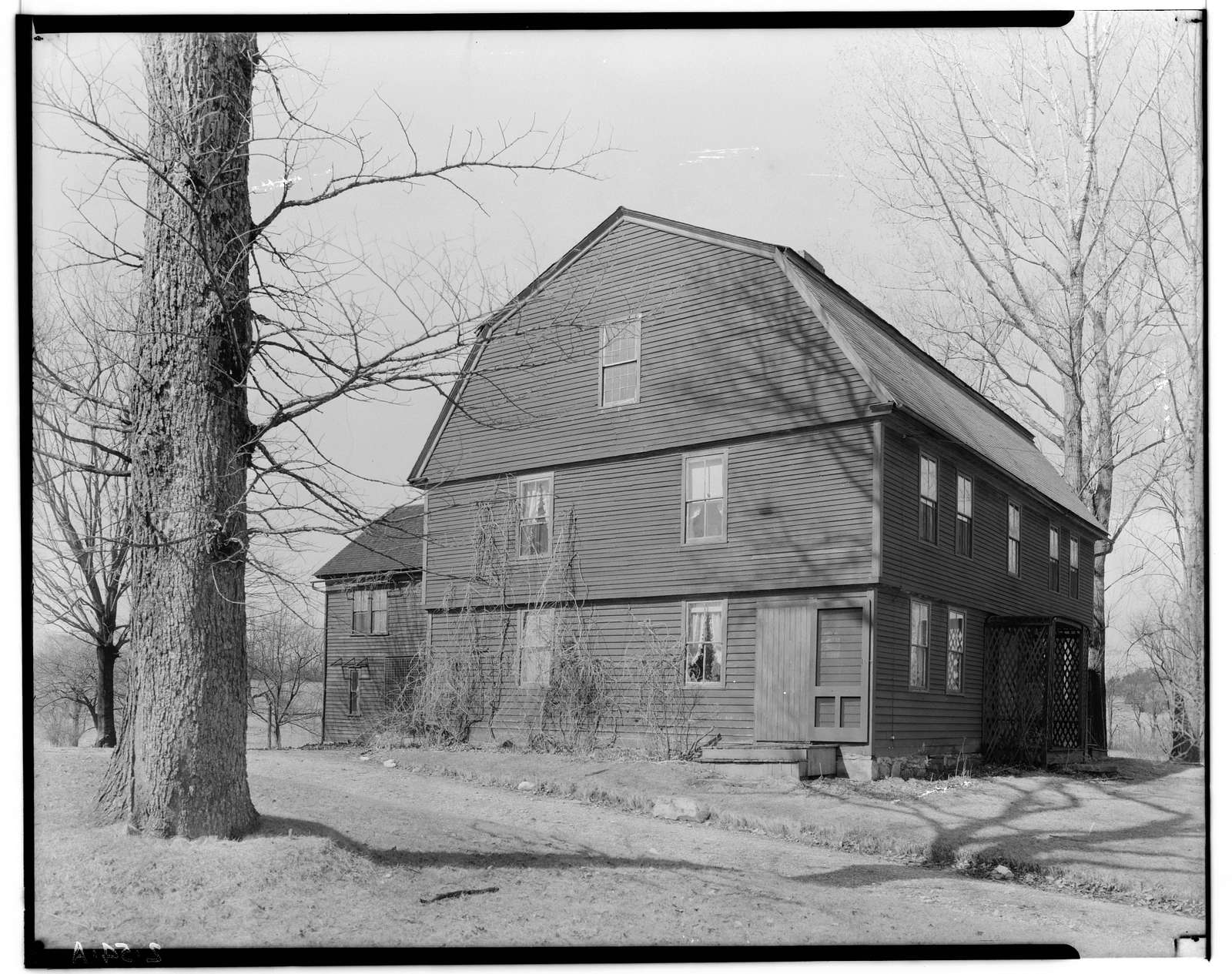 William Brattle Jr. House, 626 Williams Street, Pittsfield, Berkshire County, MA