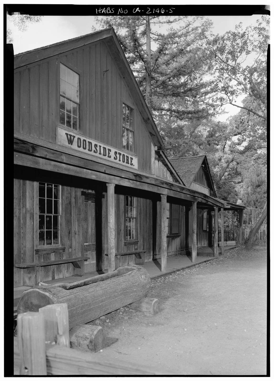 Woodside Store, Kings Mountain Road, Woodside, San Mateo County, CA