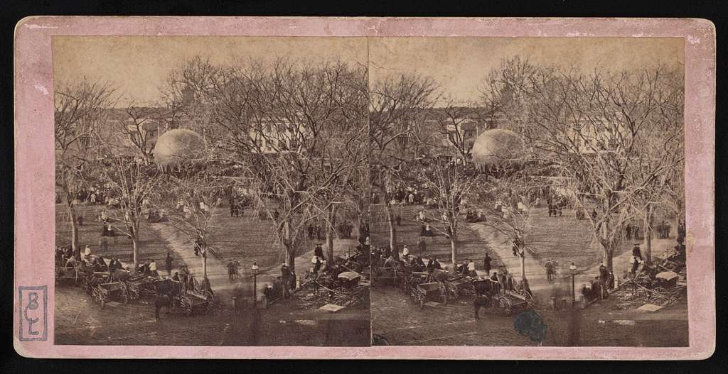 [Activities in the park of Boston Common]