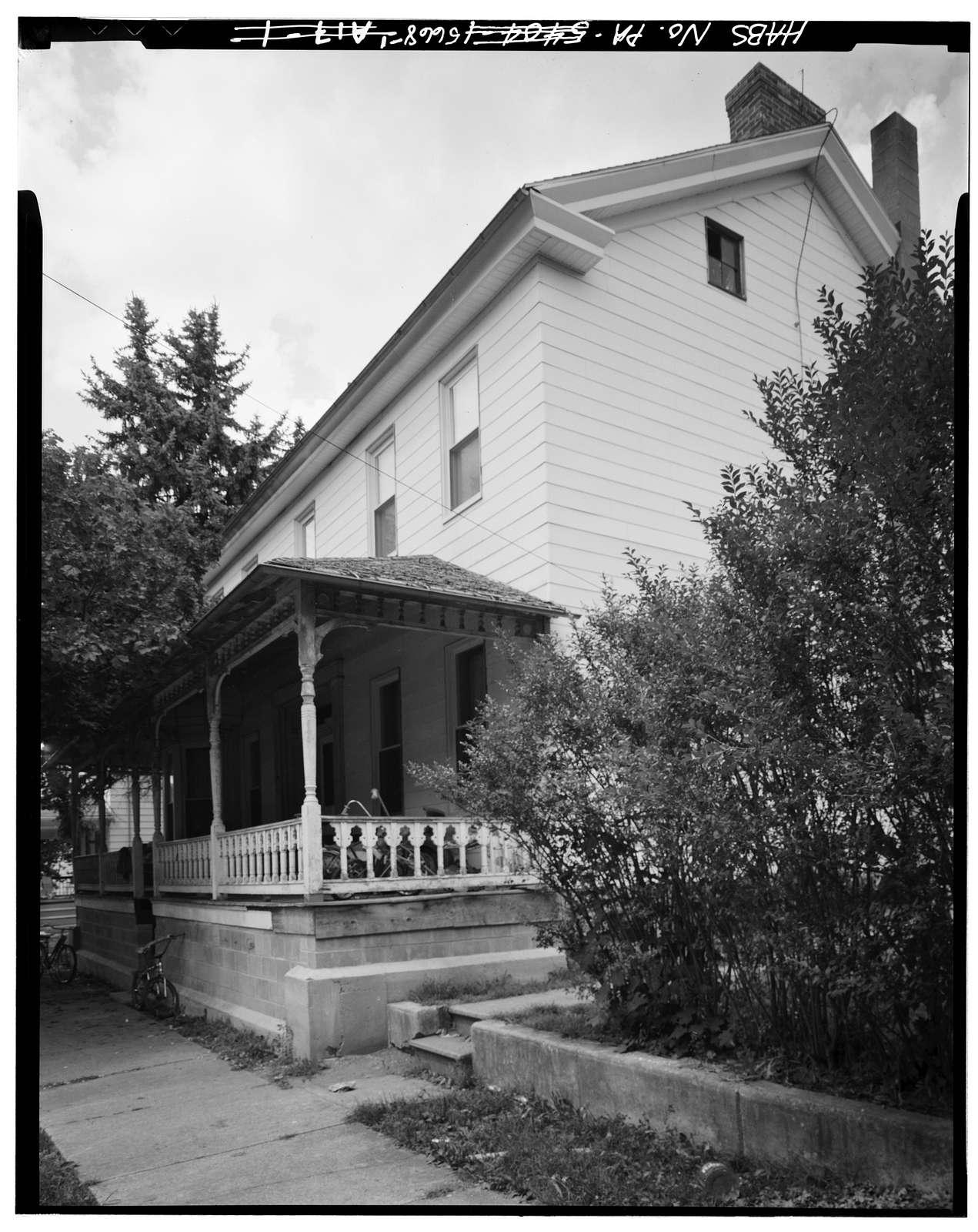 Benjamin Neff House, Second Street, Alexandria, Huntingdon County, PA