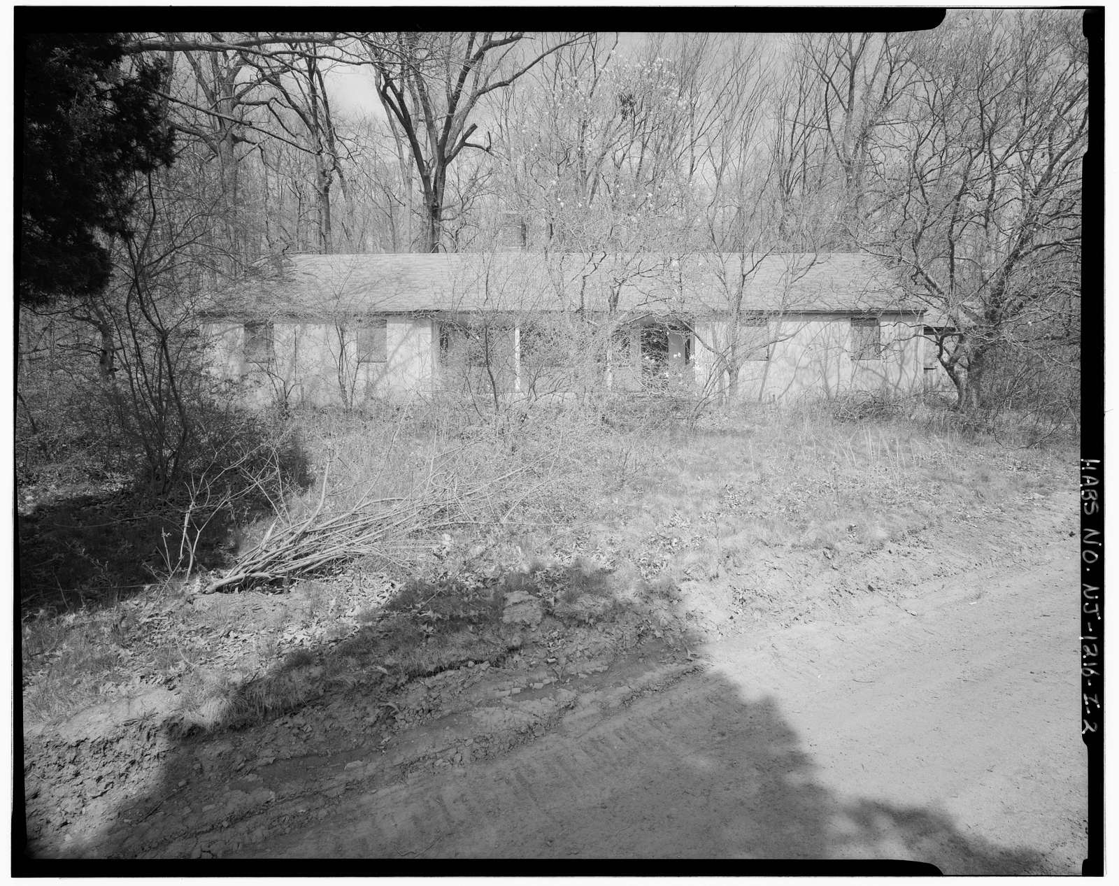 Brookrace Estate, Patrol Cottage Five, Located 0.1 mile north of Pleasant Valley Road & 0.5 mile east of Union School House Road, Morristown, Morris County, NJ