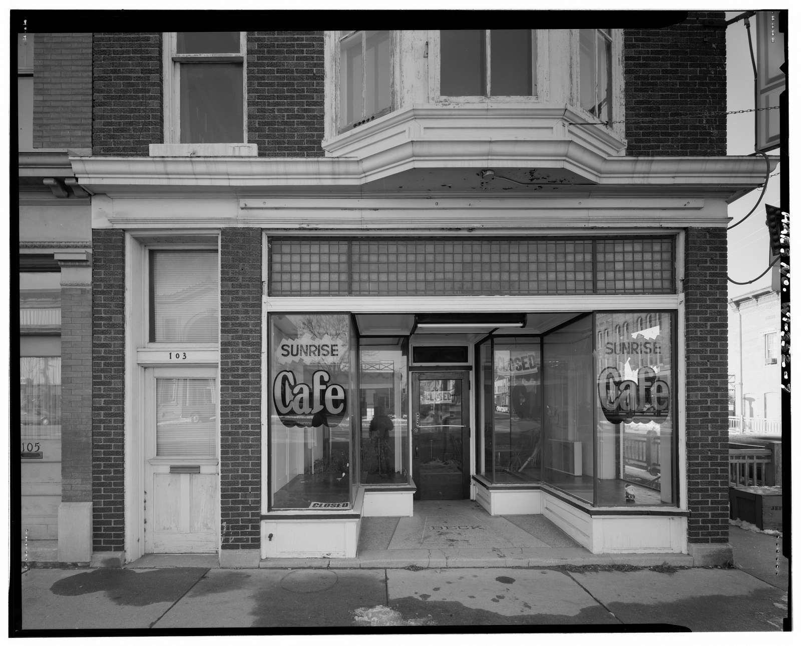 Bruno P. Beck Building, 101-103 South Main Street, Jefferson, Jefferson County, WI
