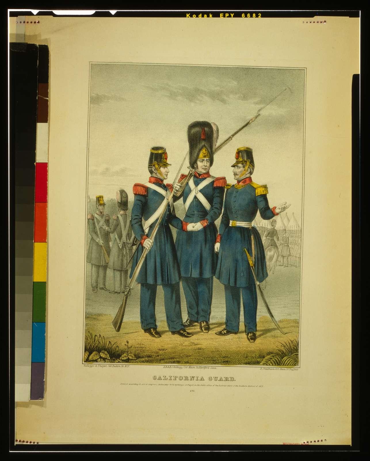 California guard / Kellogs & Thayer ; E.B. & E.C. Kellog ; D. Needham.