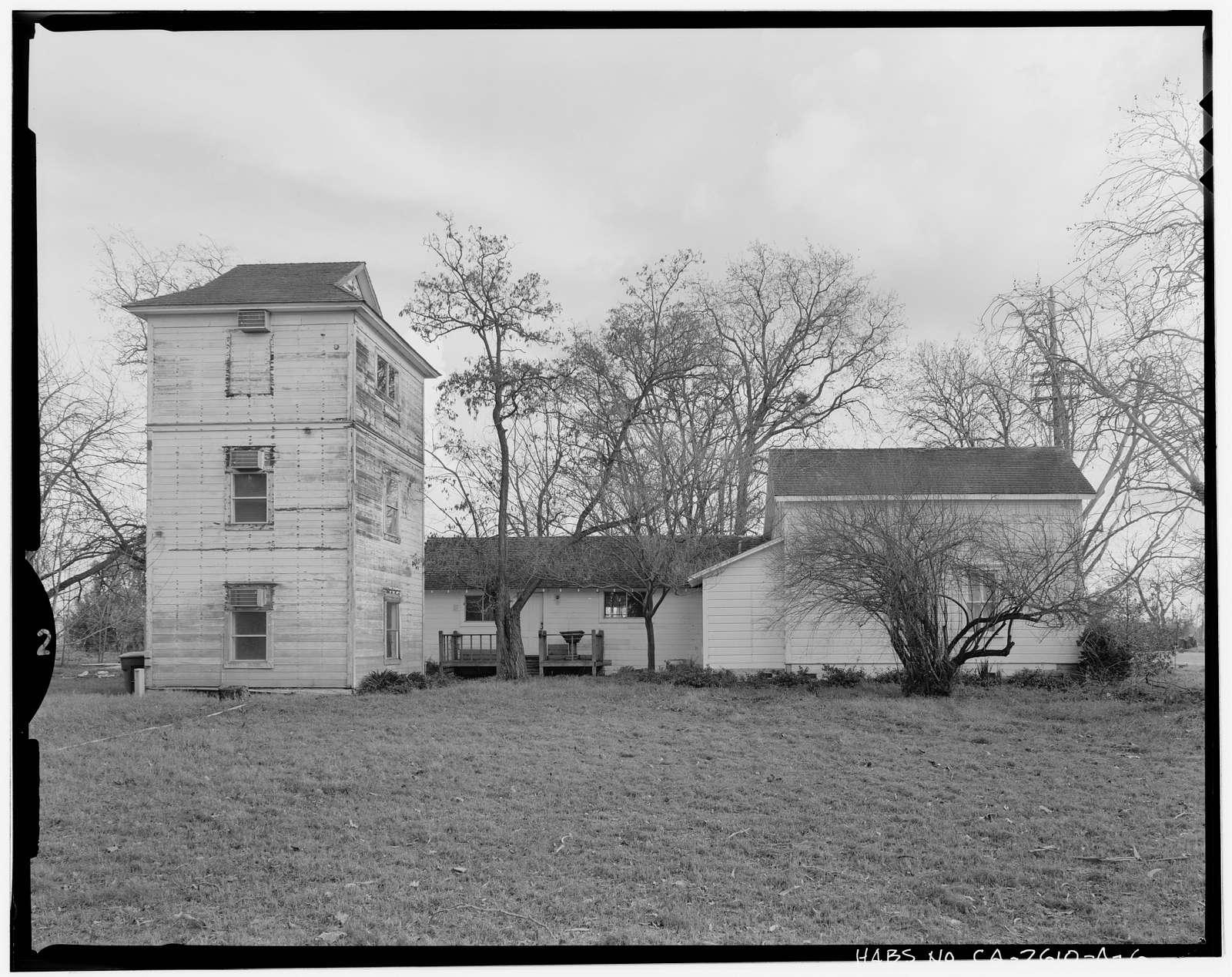 Drew-Sherwood Farm, House, 7927 Elk Grove Boulevard, Elk Grove, Sacramento County, CA