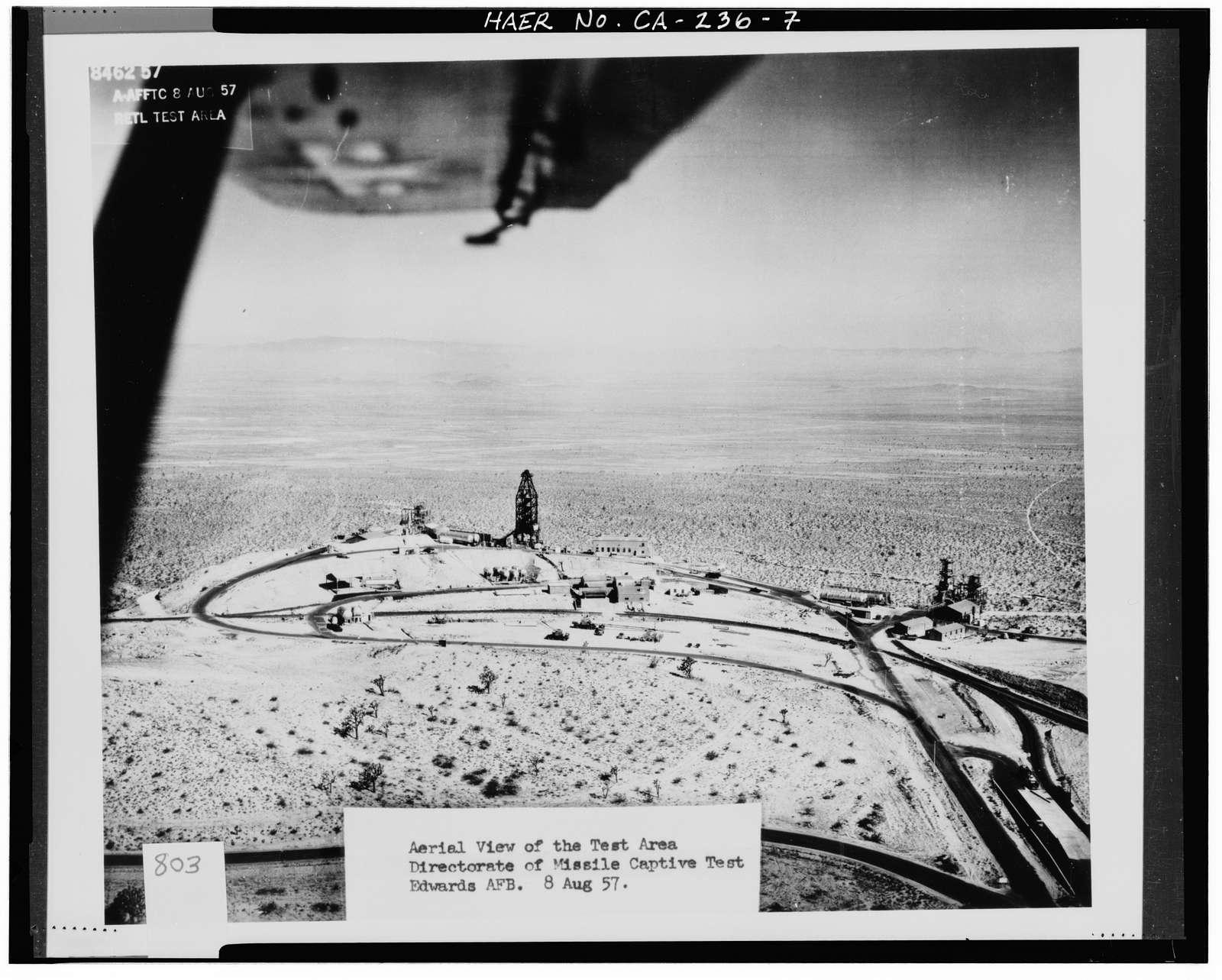 Edwards Air Force Base, Air Force Rocket Propulsion Laboratory, Leuhman Ridge near Highways 58 & 395, Boron, Kern County, CA