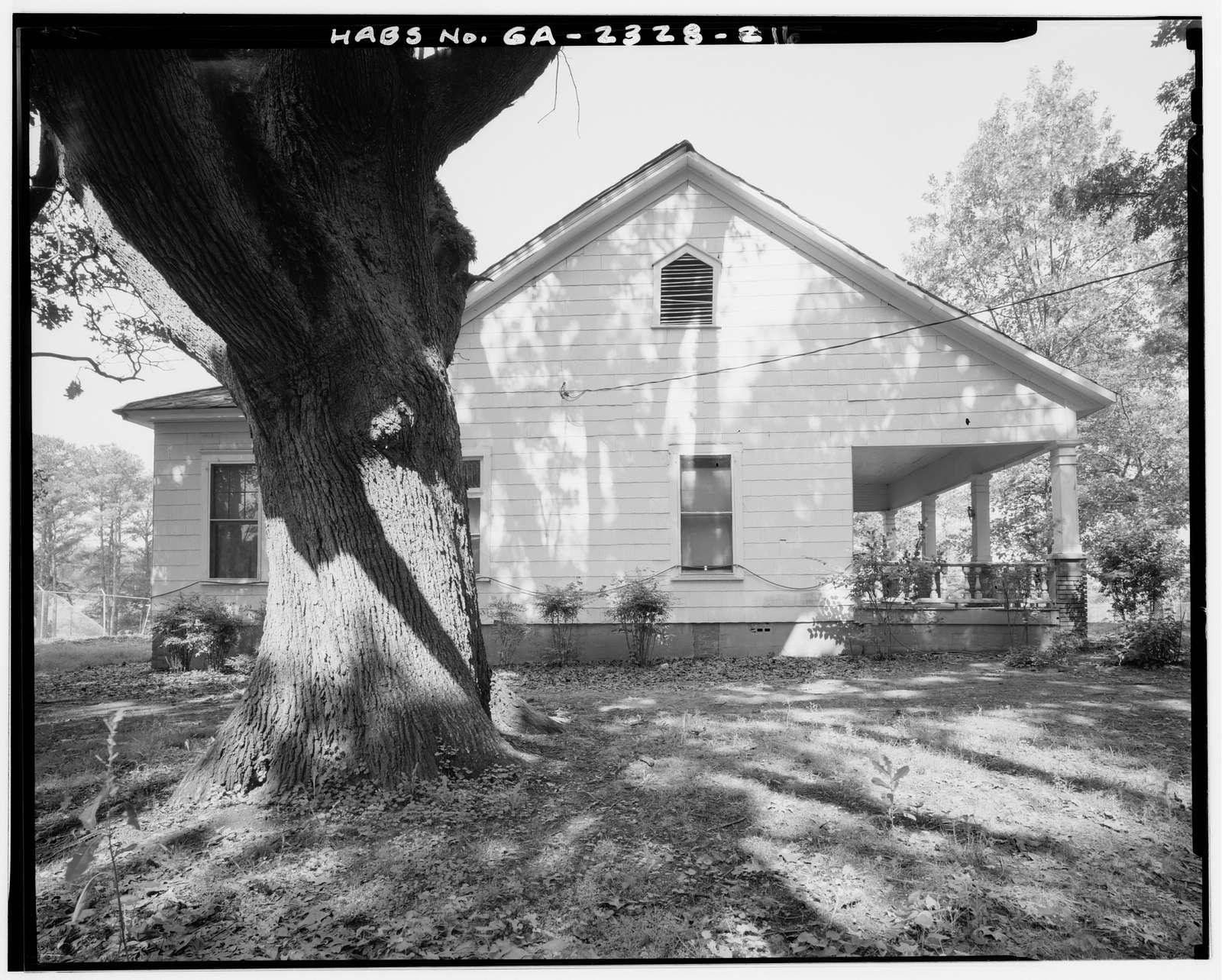 Ernest E. Hart House, 4828 West Fayetteville Road, College Park, Fulton County, GA