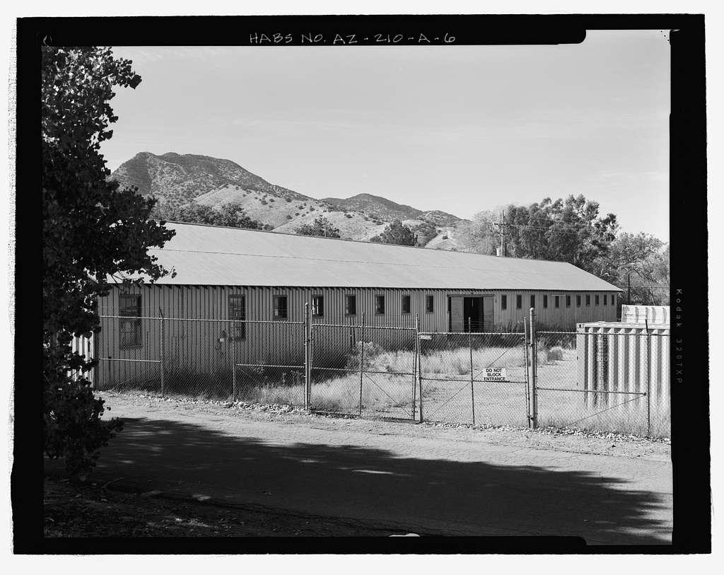 Fort Huachuca, Cavalry Stable, Clarkson Road, Sierra Vista, Cochise County, AZ