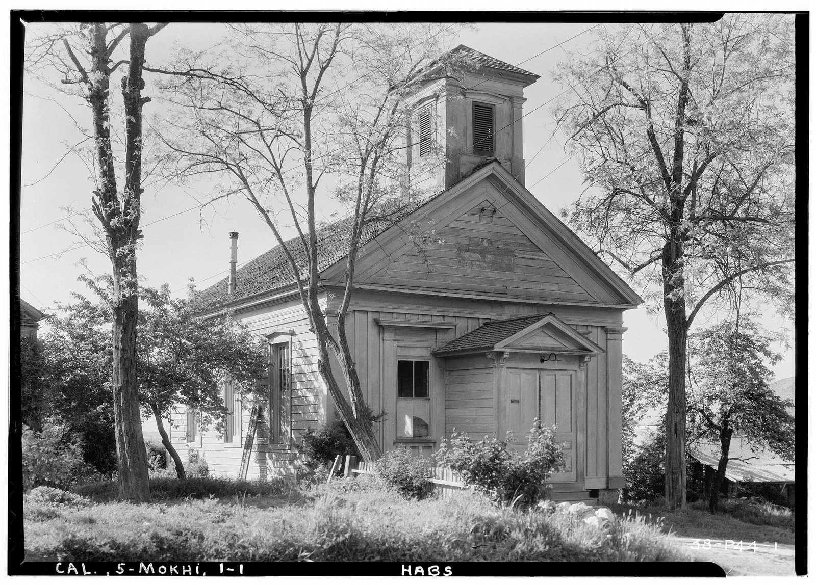 Frame Church, Mokelumne Hill, Calaveras County, CA
