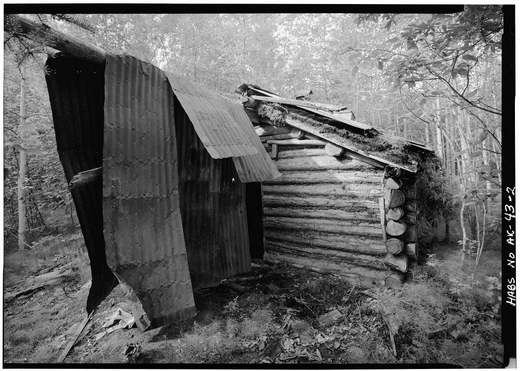 George McGregor Cabin, Yukon River near Coal Creek, Circle, Yukon-Koyukuk Census Area, AK