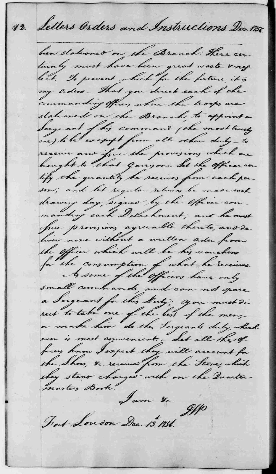 George Washington Papers, Series 2, Letterbooks 1754-1799: Letterbook 4, Sept. 19, 1756 - April 26, 1758