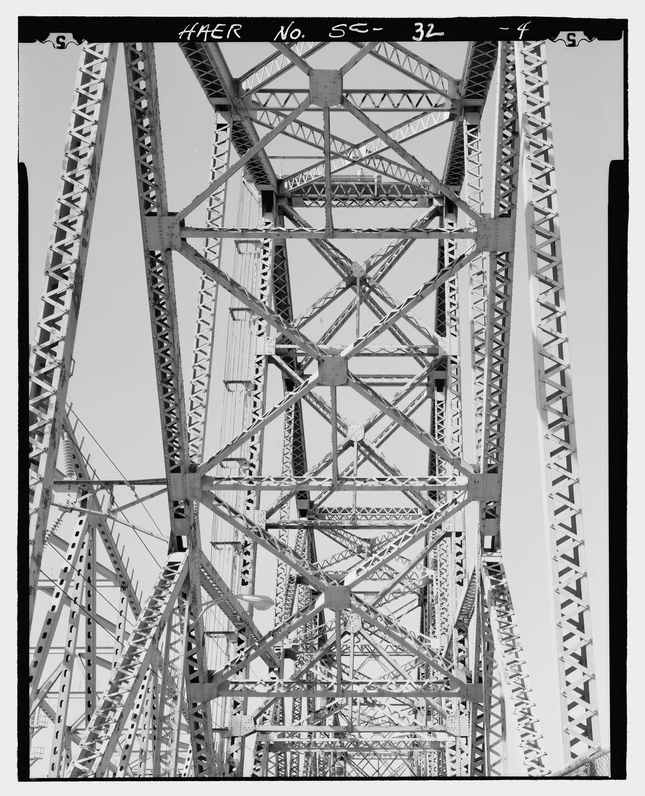 Grace Memorial Bridge, U.S. Highway 17 spanning Cooper River & Town Creek , Charleston, Charleston County, SC