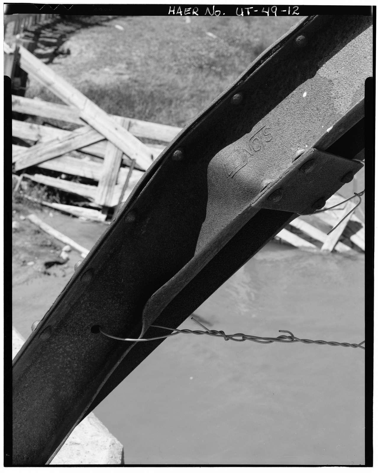 Henefer Bridge, Spanning Weber River at Center Street, Henefer, Summit County, UT