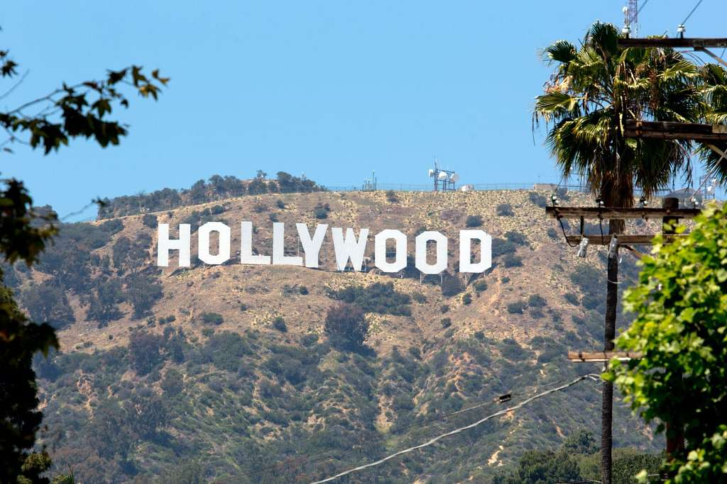 Hollywood Sign In Los Angeles California Picryl Public Domain Image