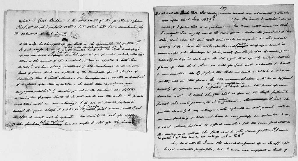 James Buchanan and Harriet Lane Johnston Papers: Series I: James Buchanan Papers, 1825-1868; 1863, Aug. 3-1868, Jan. 2, undated