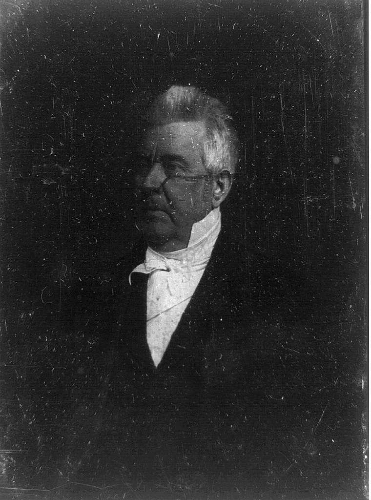 [John M. Clayton, half-length portrait, three-quarters to the left]