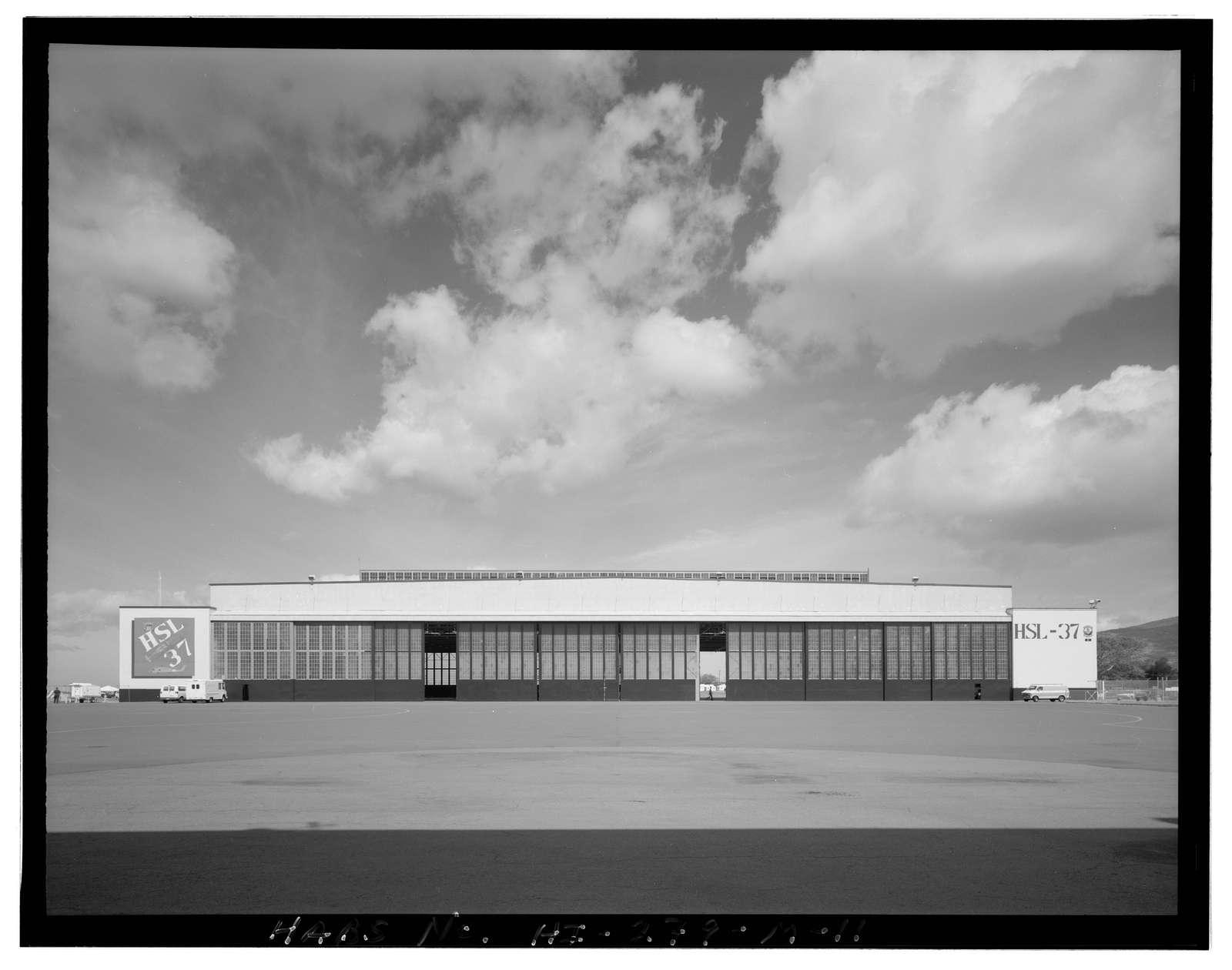 Naval Air Station Barbers Point, Maintenance Hangar Type, Midway Street, Ewa, Honolulu County, HI