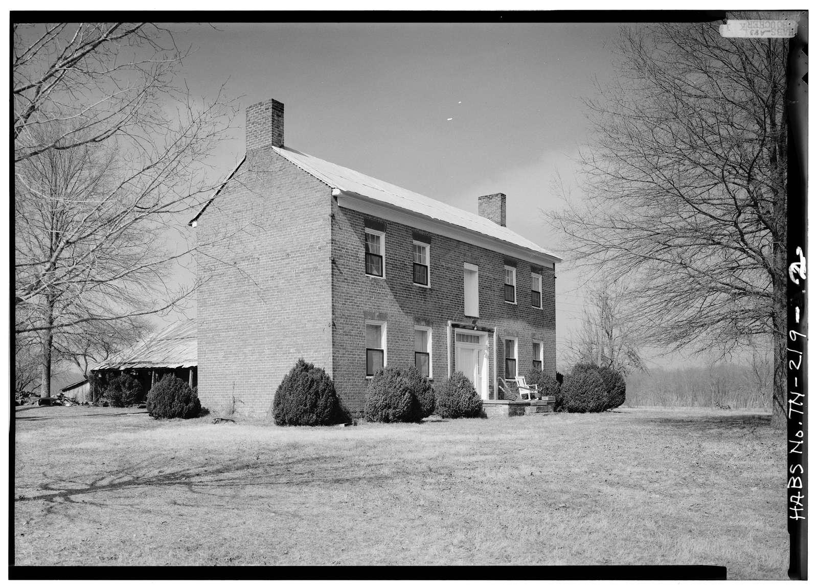 Northcut Plantation, Wheeler Lane, McMinnville, Warren County, TN