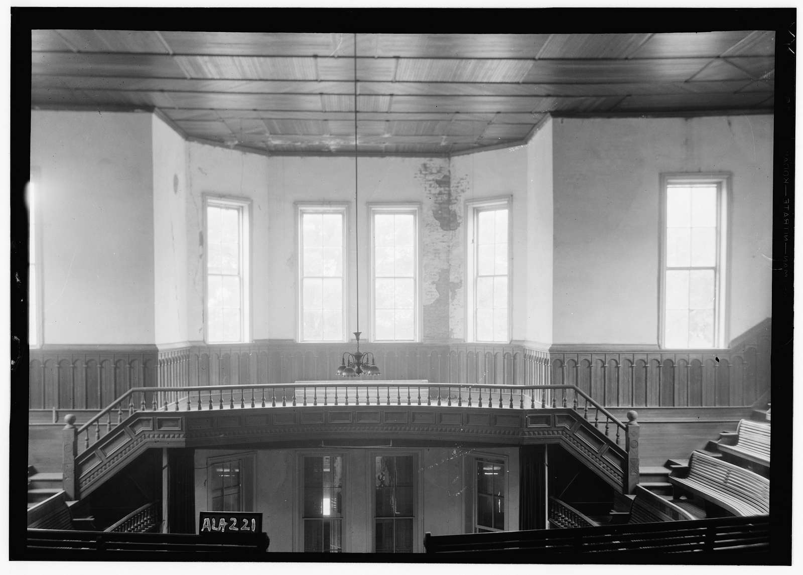 Old Southern University, University Avenue (College Street), Greensboro, Hale County, AL