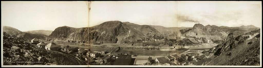 Panorama of Clifton, Arizona