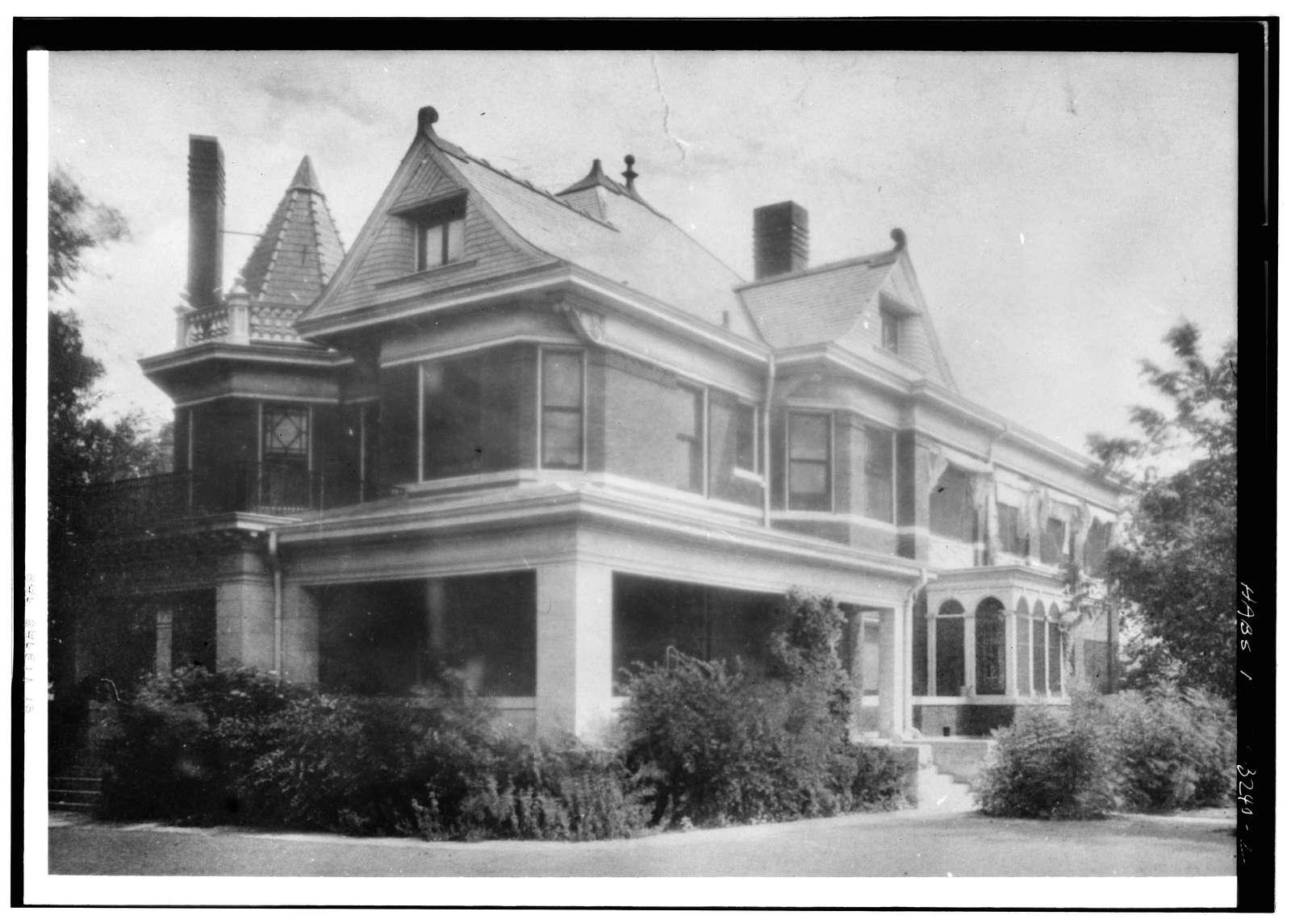 Pollock-Capps Residence, 1120 Penn Street, Fort Worth, Tarrant County, TX